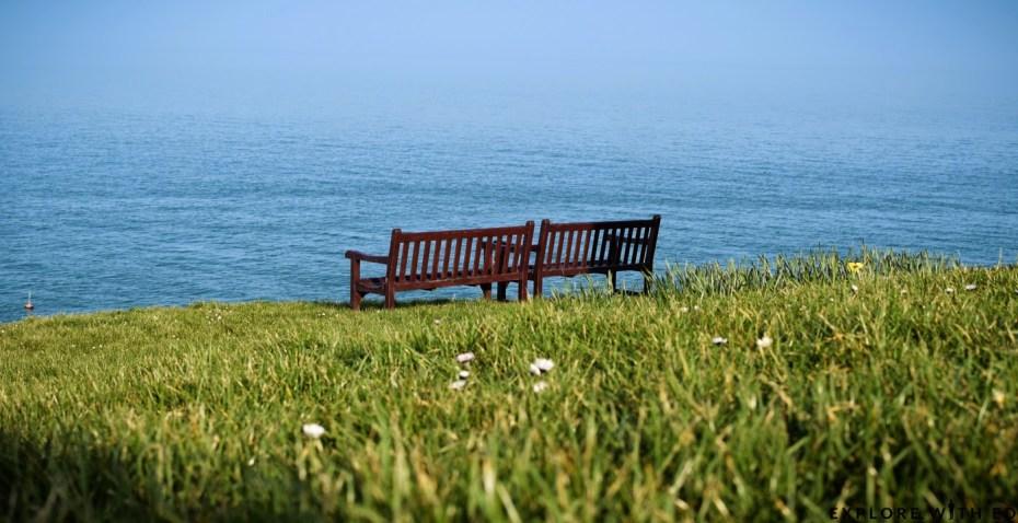Pembrokeshire National Park, Tenby Headland, Wales Coast Path