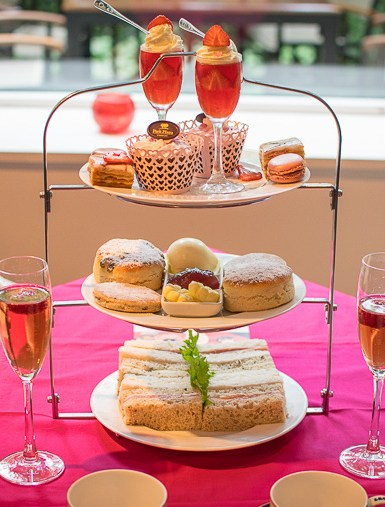 Park Plaza Cardiff Pink Afternoon Tea