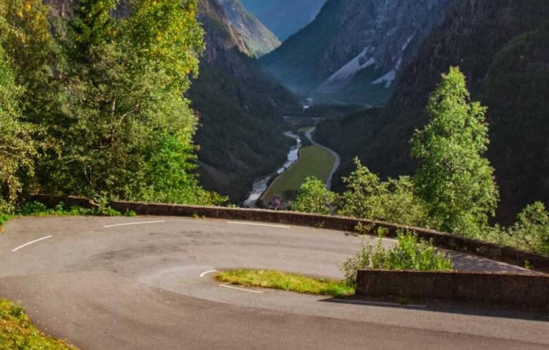 The Stalheimskleiva, Norway