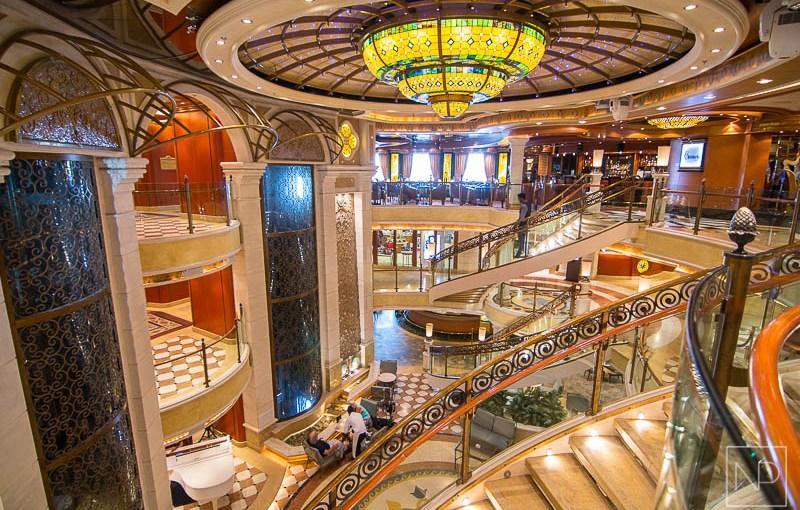 Grand Atrium onboard Emerald Princess