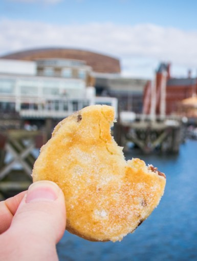 Welsh cakes in Cardiff