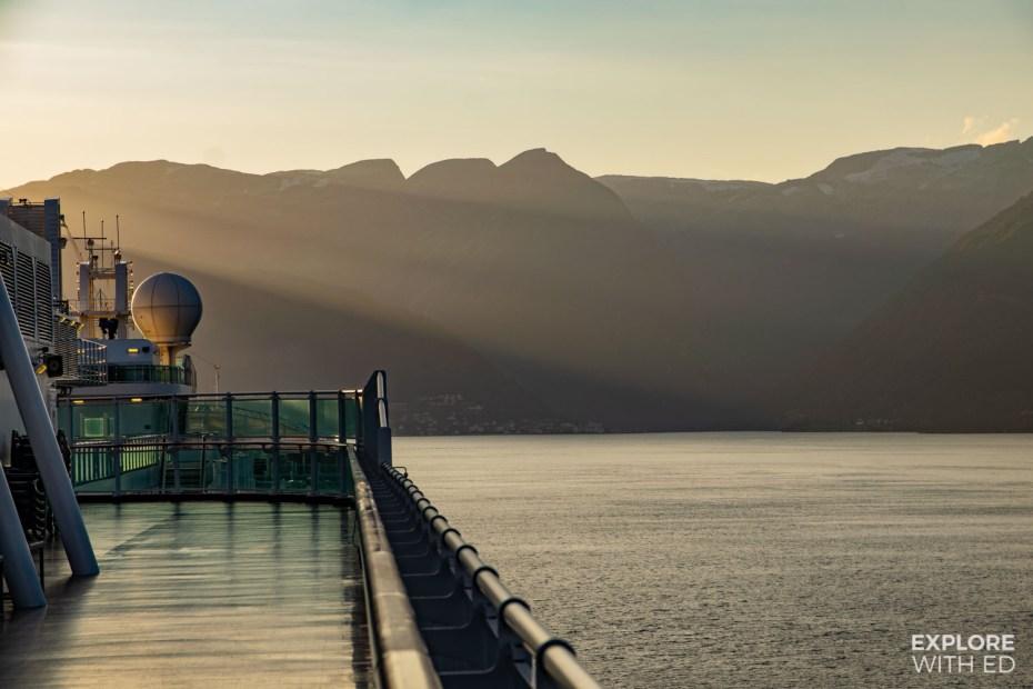 Cruising through the Norwegian Fjords