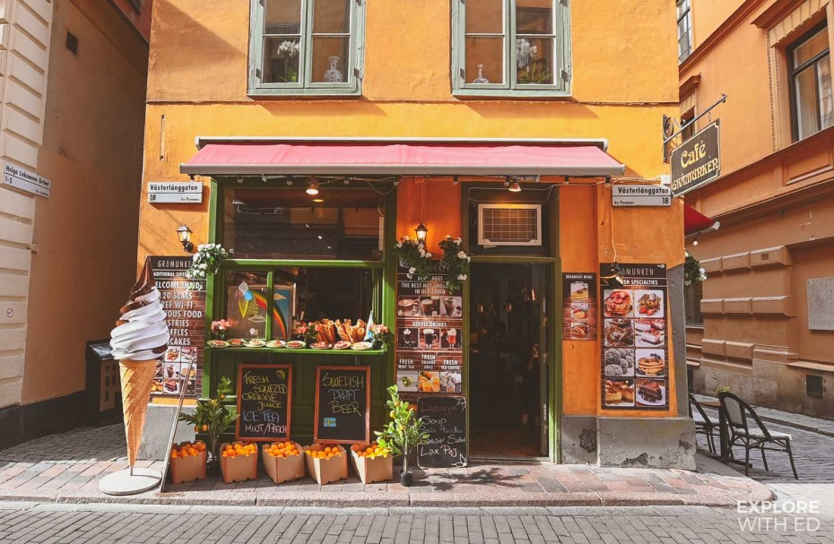 Cafes in Stockholm's Old Town