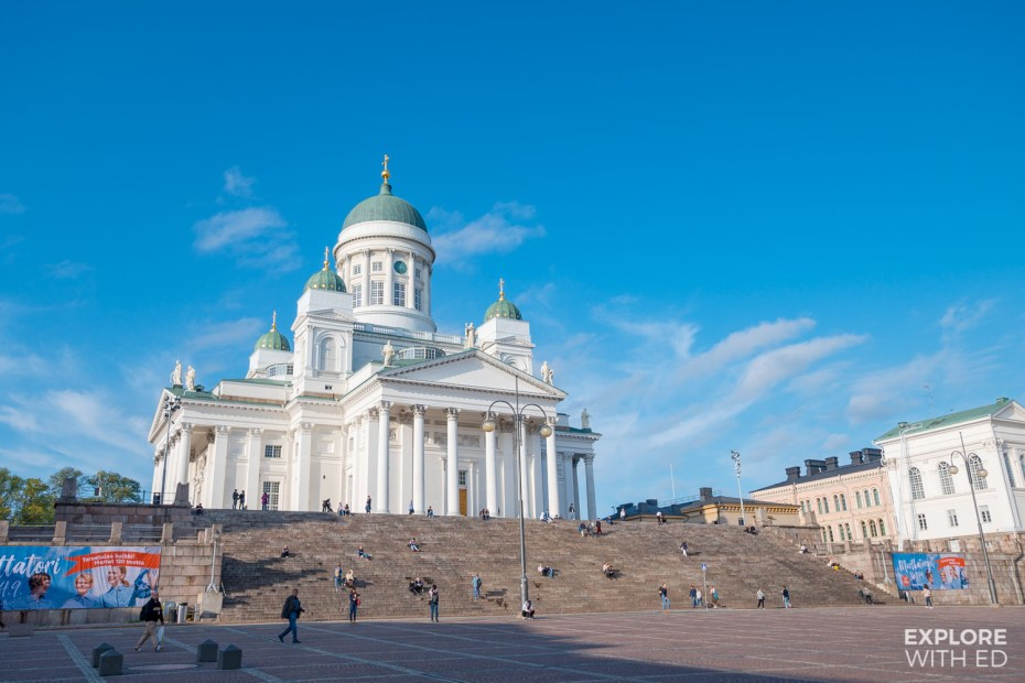 Helsinki Cathedral Square