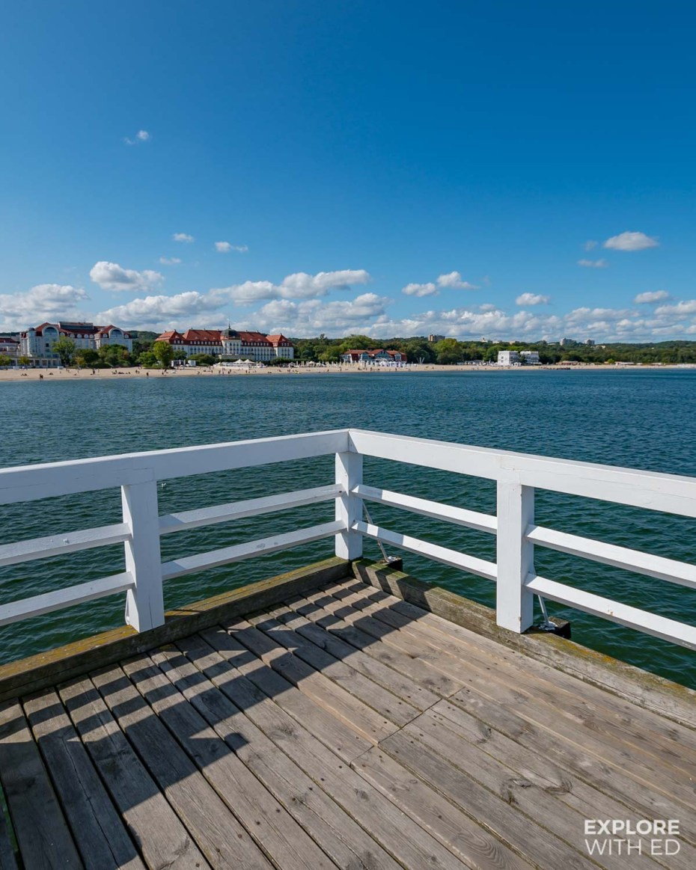 Europe's Longest Wooden Pier in Sopot, Poland