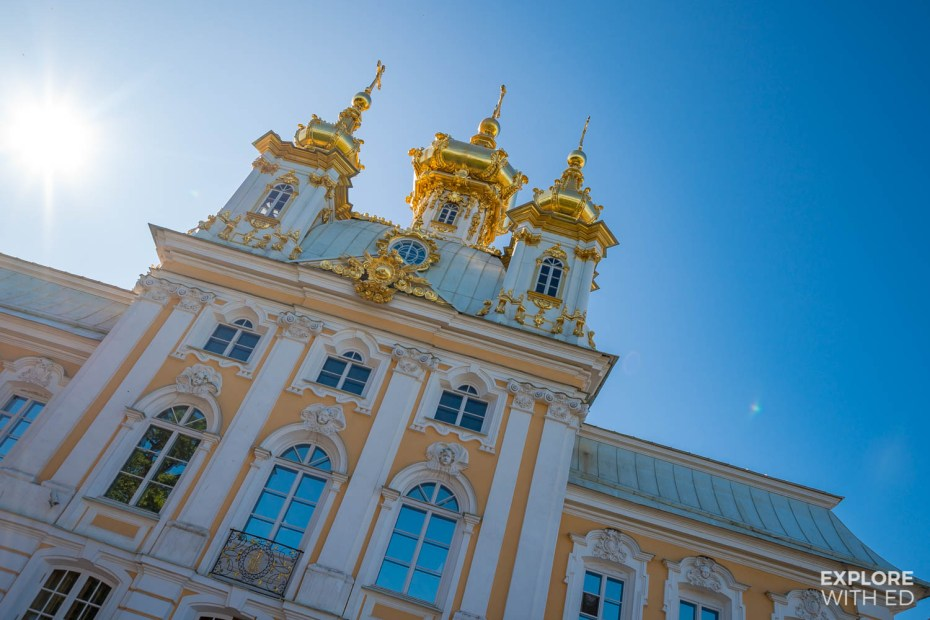 Peterhof Palace, residence of Peter and Catherine The Great