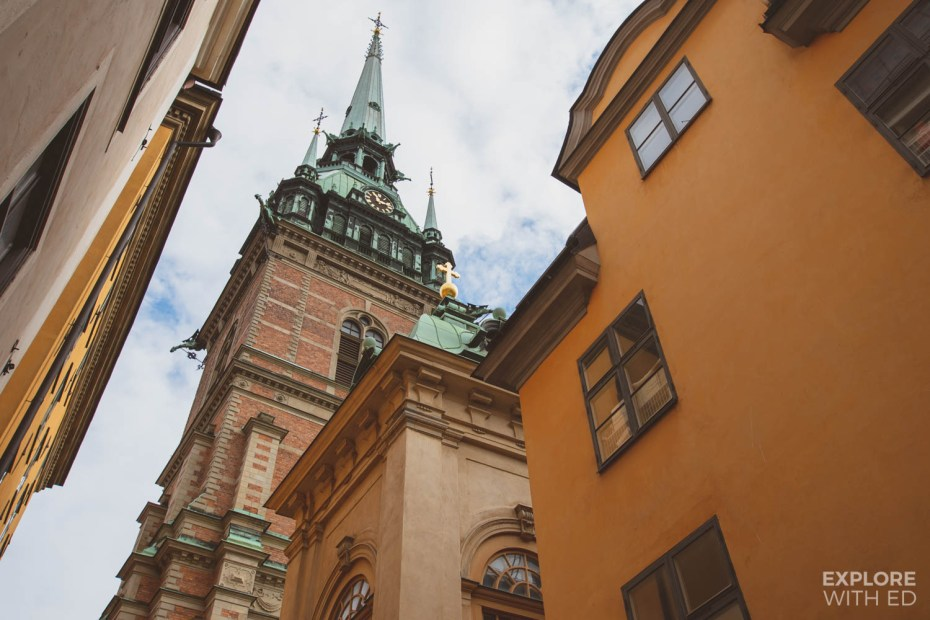 Gamla Stan, the Old Town of Stockholm