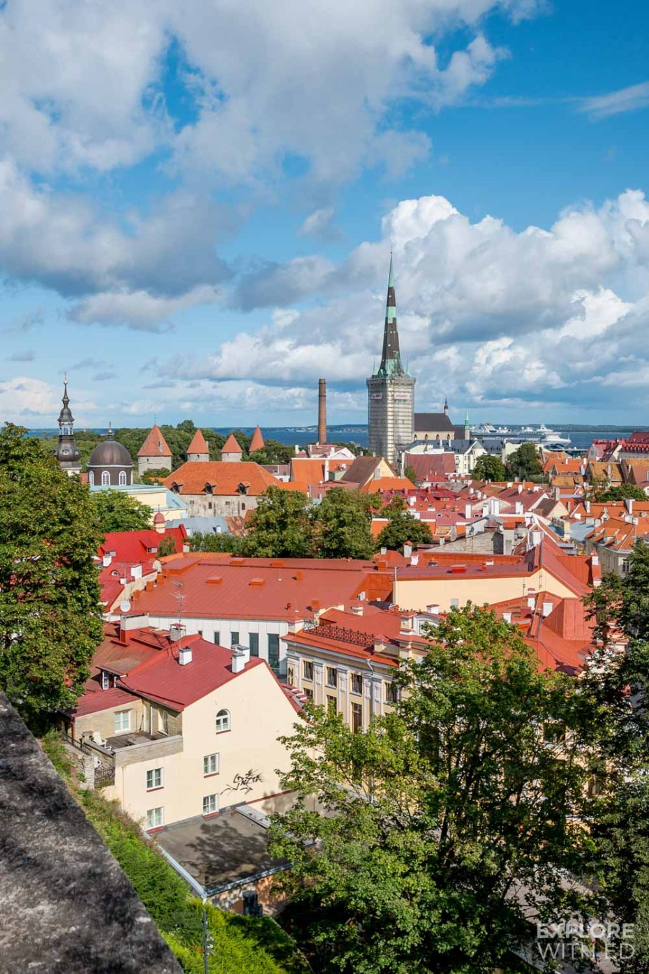 The Kohtuotsa viewing platform is one of the most magical places in Tallinn for photography