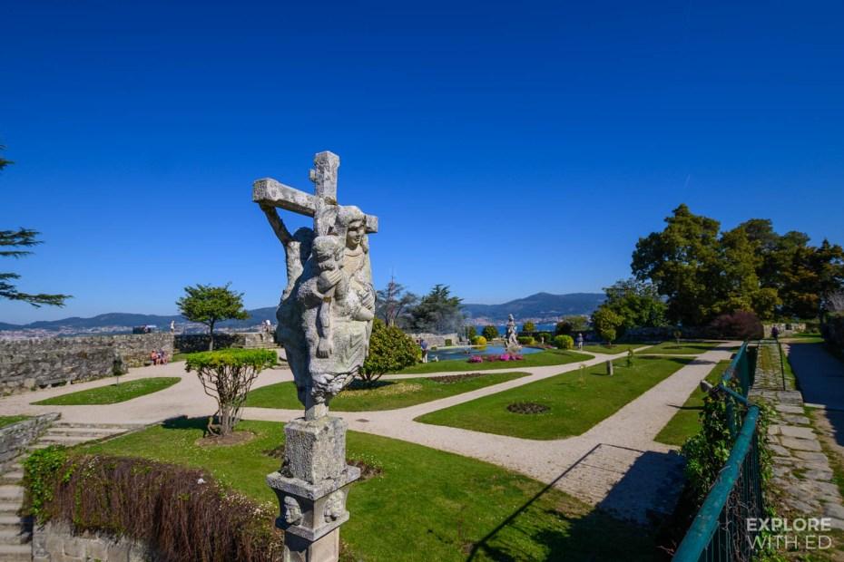 Castro Fortress garden