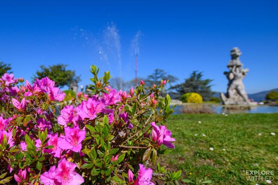Castro Fortress garden in Vigo
