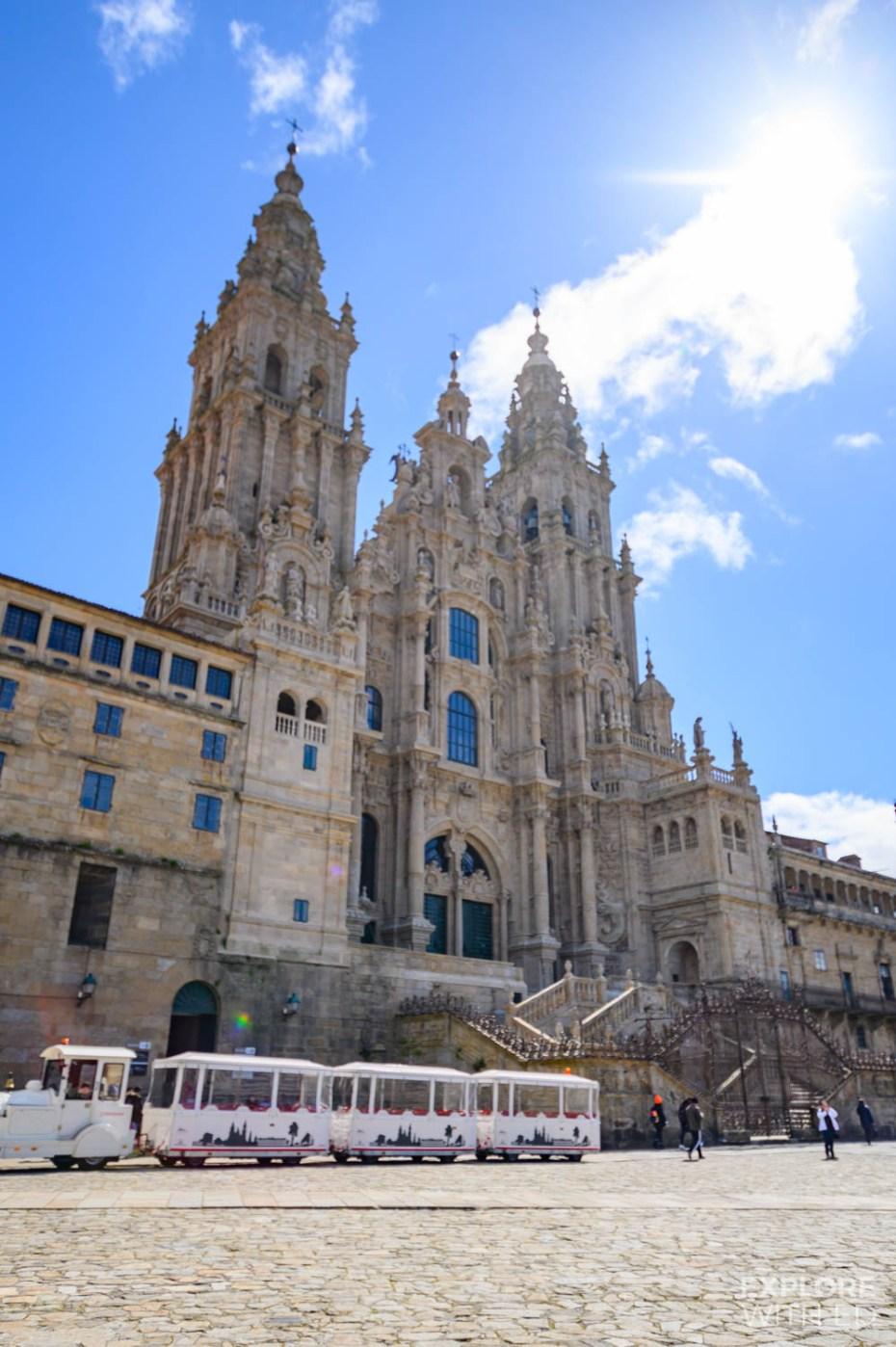 Church of St. James in Santiago de Compostela