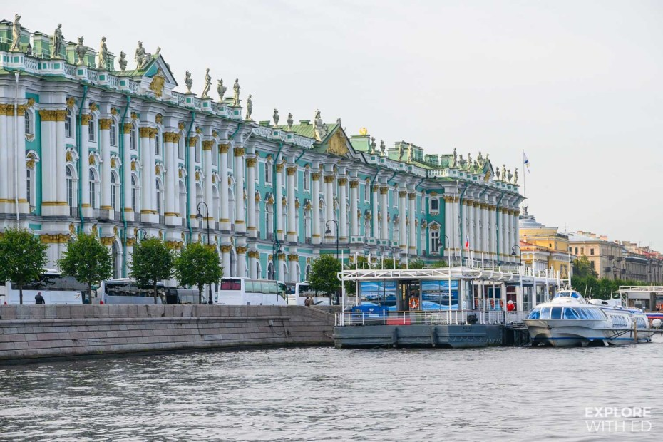 Cruise on the River Neva in St Petersburg