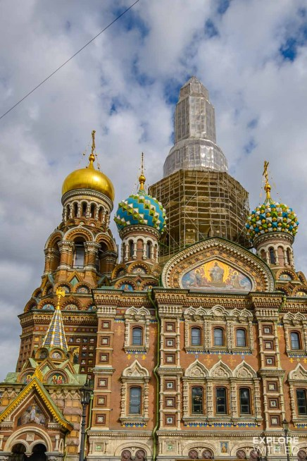 Church of our Savior on Spilled Blood, Saint Petersburg