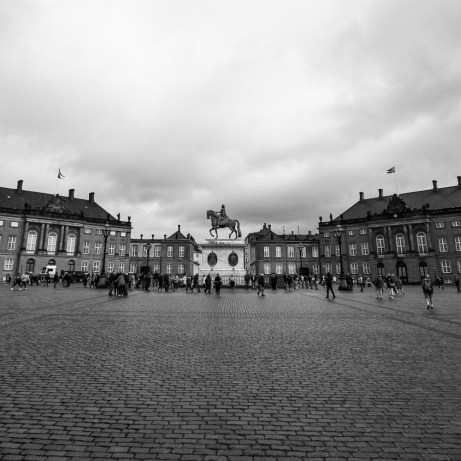 The Amalienborg Palace Square
