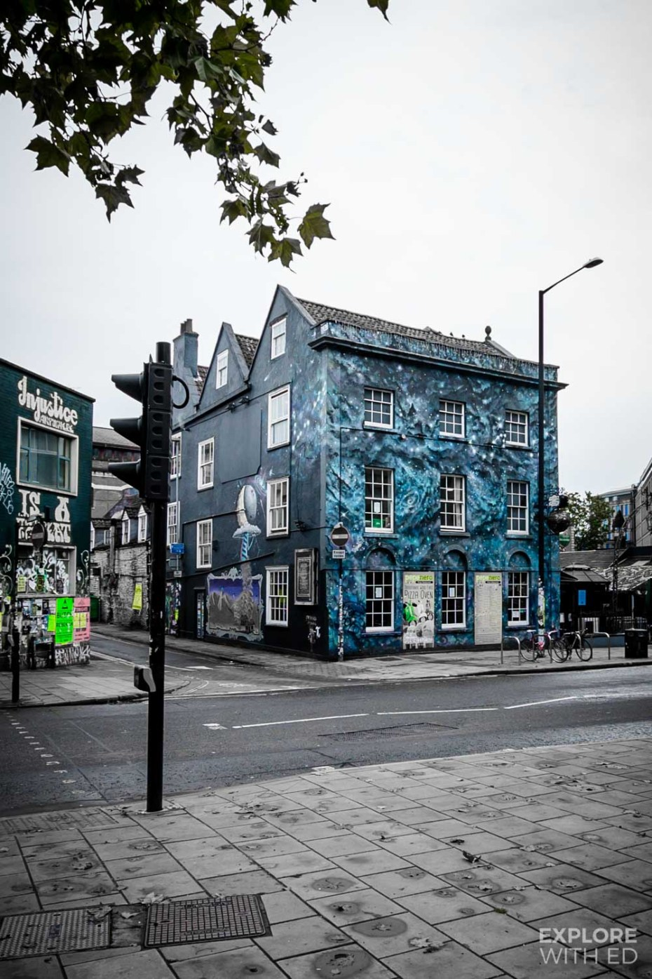 Urban Art in Stokes Croft Bristol
