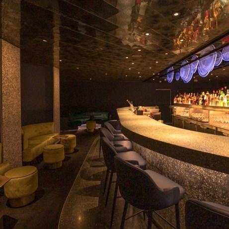 Bars on Scarlet Lady