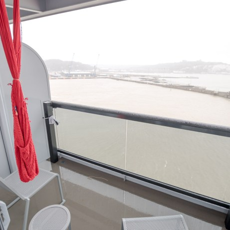 Central Sea Terrace cabin balcony