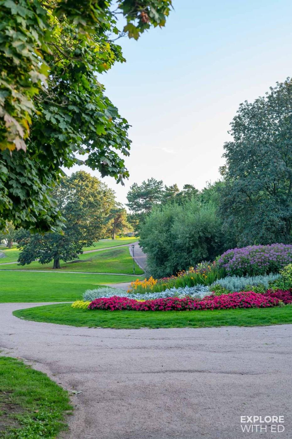 Parks in Helsinki