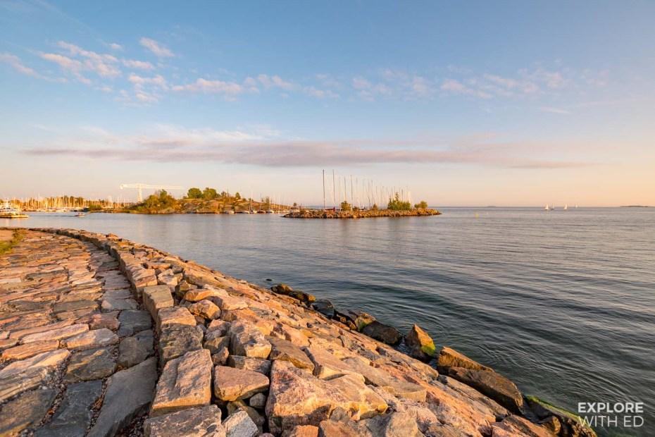Helsinki coastal walk