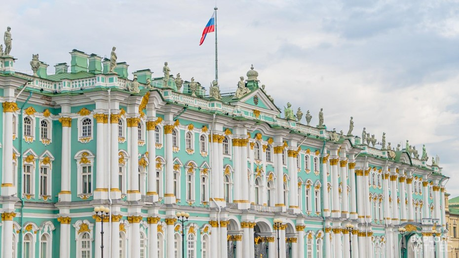The State Hermitage Museum in Saint Petersburg is one of the most visited art museums in Europe