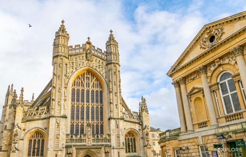 Bath Abbey and Churchyard