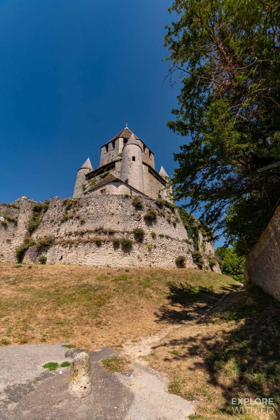 Caesar Tower in Provins, France