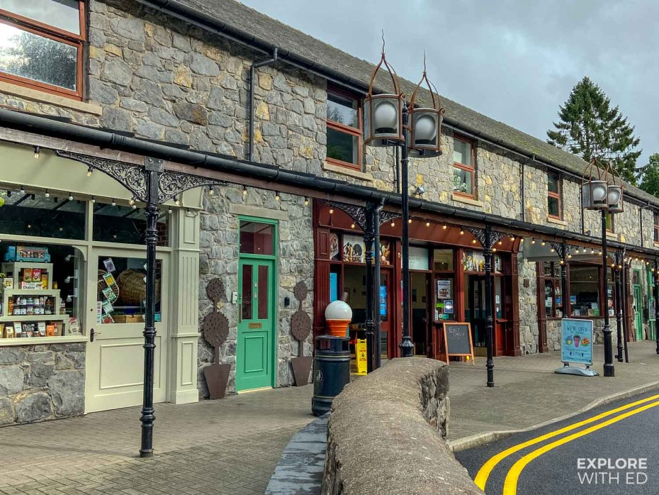 Shopping area in Betws-y-Coed