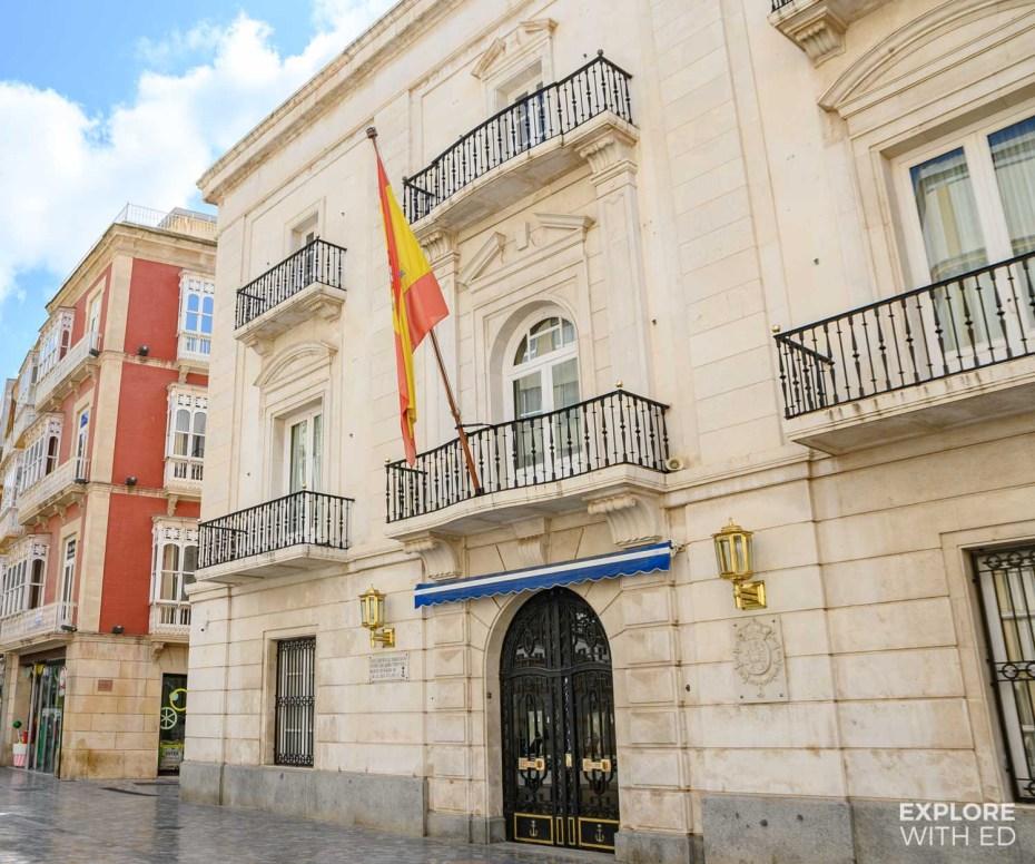 Cartagena city centre
