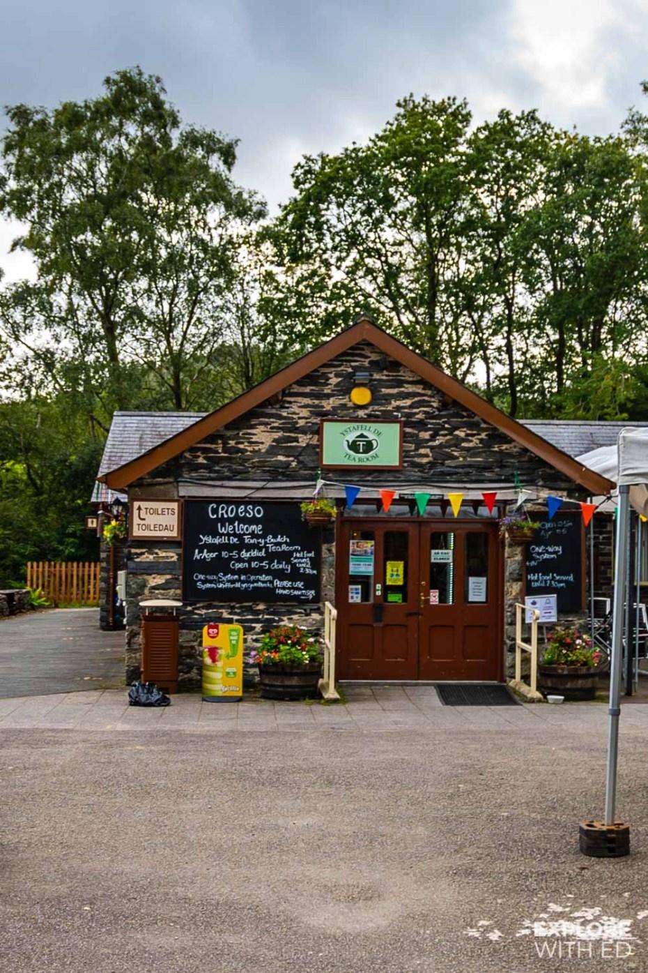 Tan-Y-Bwlch Steam Train Station Cafe