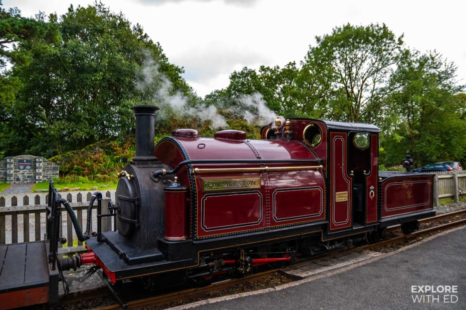 Ffestiniog Steam Train