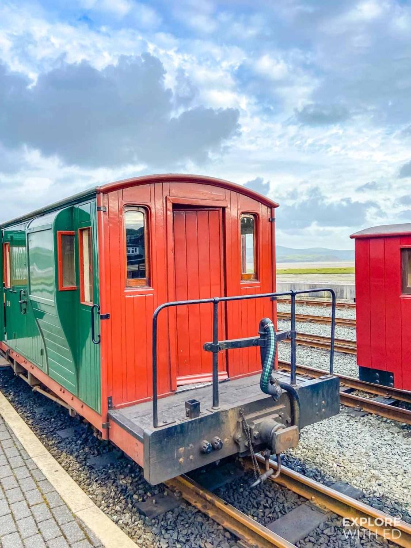 Ffestiniog steam train carriage