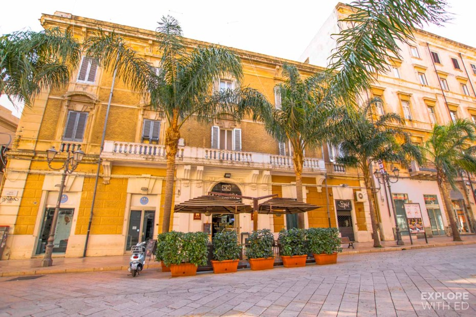 Cafes and bars in Brindisi