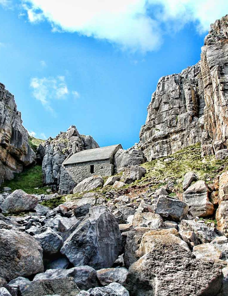 St Govan Chapel, Pembrokeshire