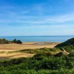Three Cliffs Bay in Gower, Swansea