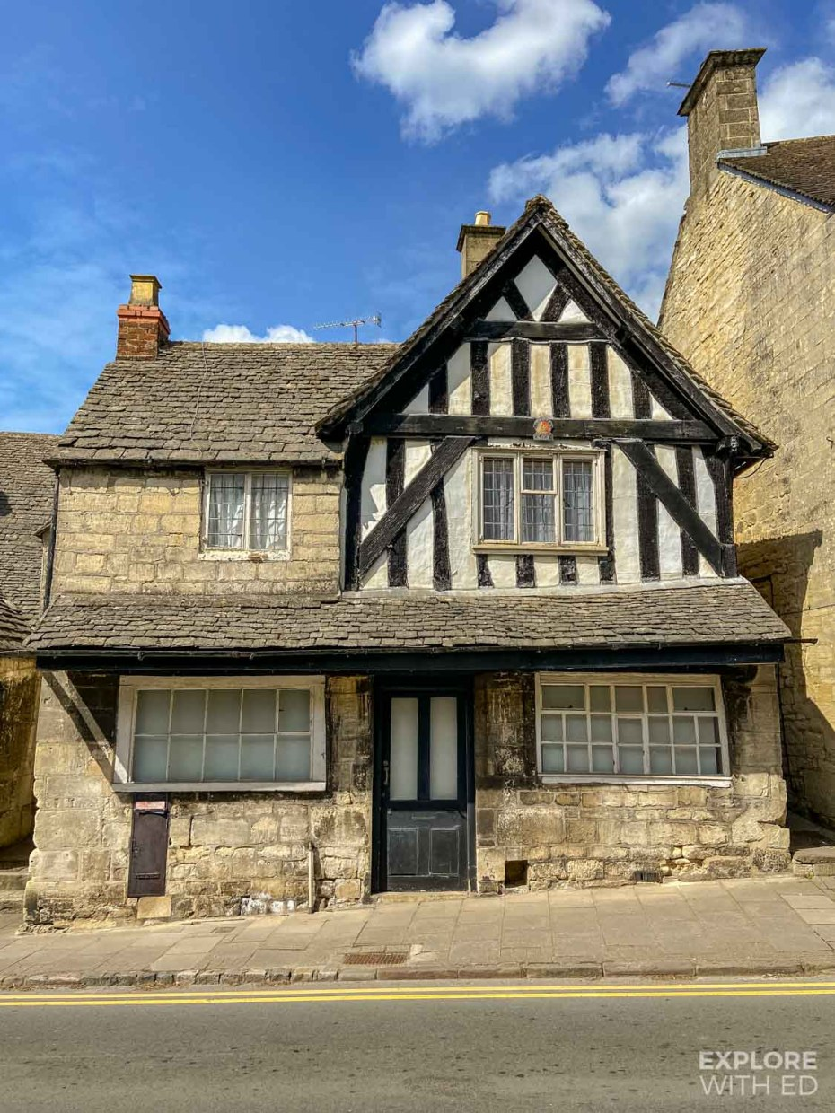 Old Medieval house in Painswick