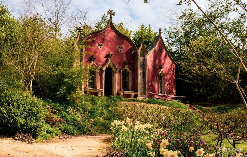 Painswick Rococo Garden Little Red House