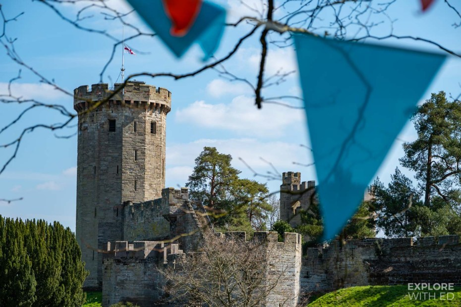 Zog activity trail at Warwick Castle