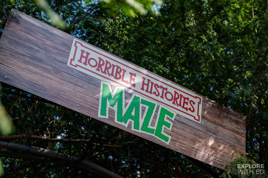 Horrible Histories Maze at Warwick Castle