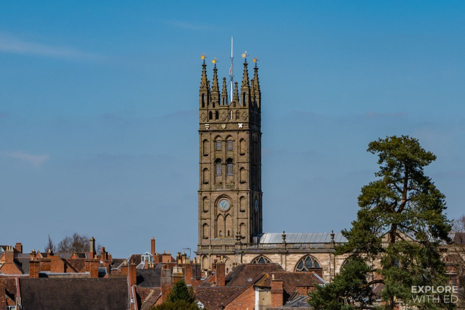 St Mary's Church Tower, Warwick