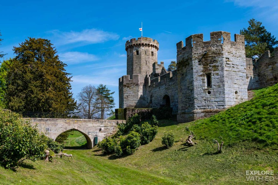 Warwick Castle towers