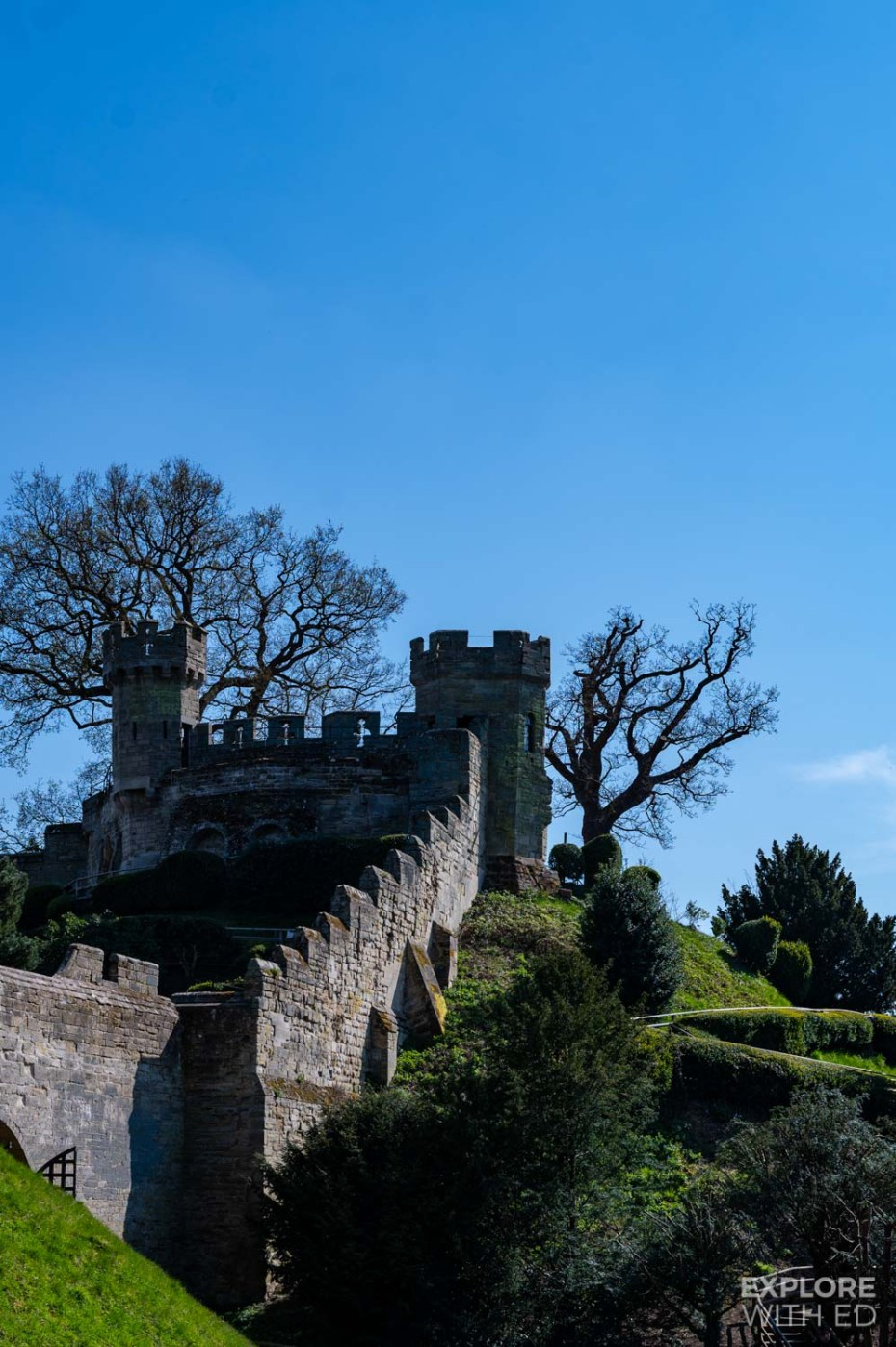 Conquerer's Fortress at Warwick Castle