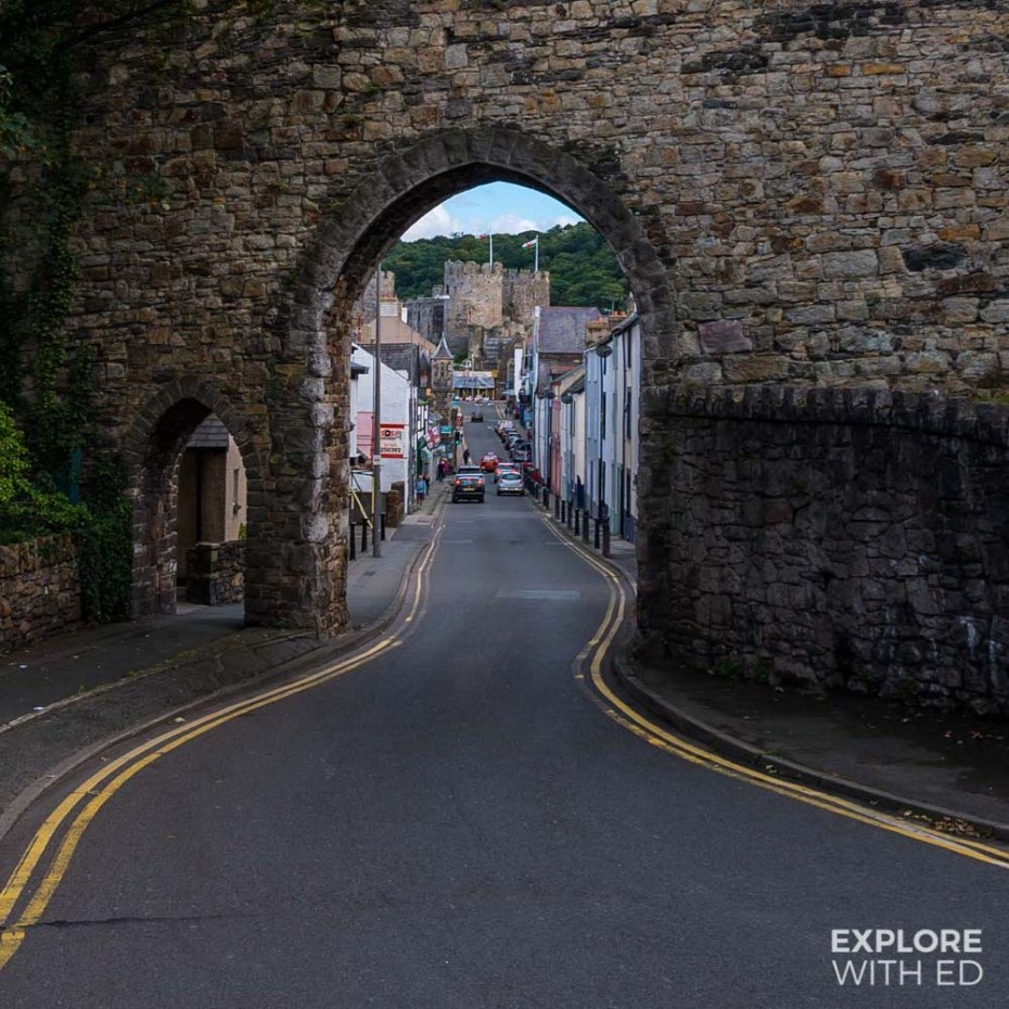 Conwy Town Walls Gate Entrance