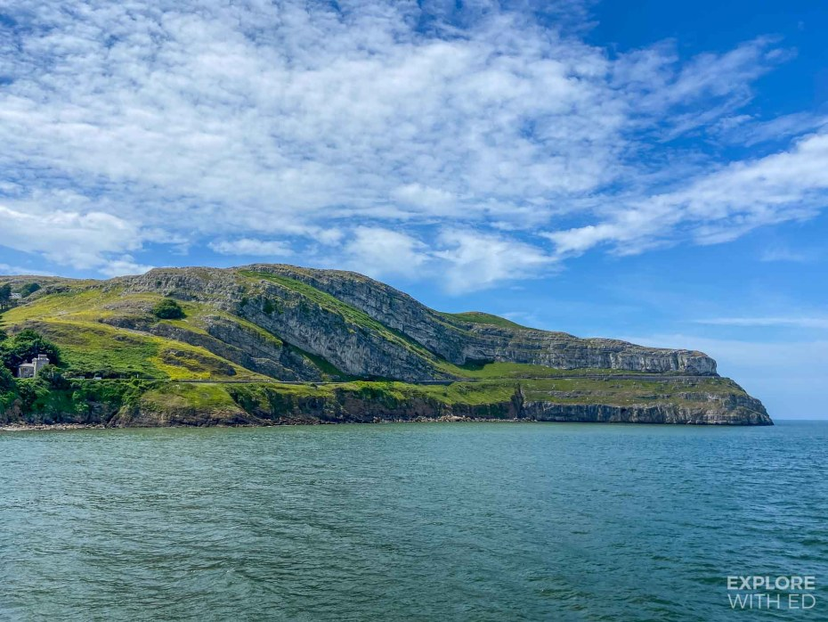 The Great Orme viewed from Llandudno Pier