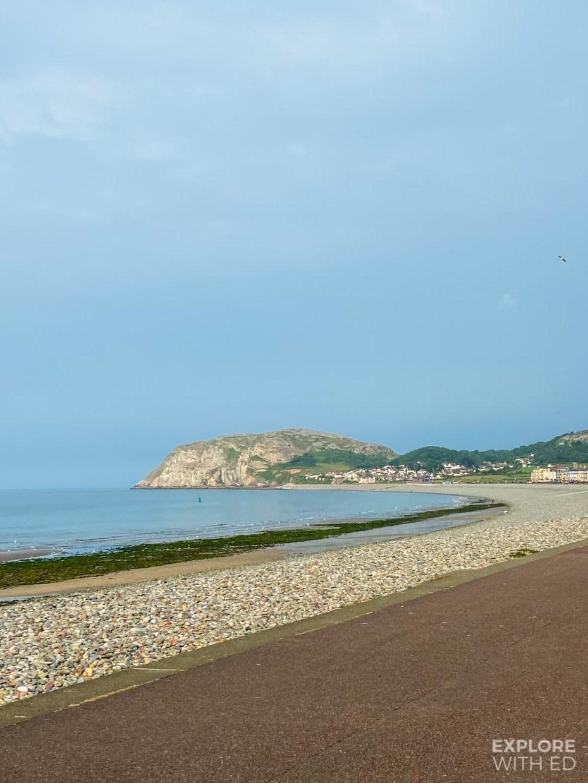Llandudno Promenade and beach
