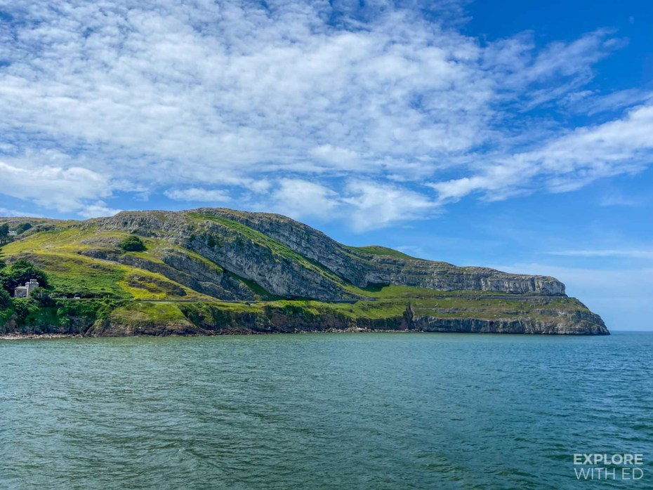 Llandudno Great Orme viewed from Pier