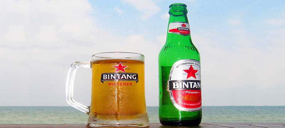 Beer from Bintang