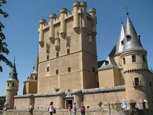 Alcazar of Segovia Entrance
