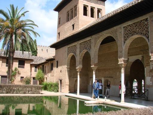 Partal Gardens, Palacio Nazaries