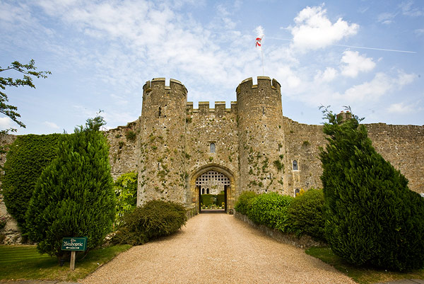 Luxurious Amberley Castle - a very English experience. (Credit: Jonathan Day).
