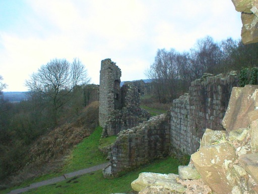 Beeston Castle Ruins